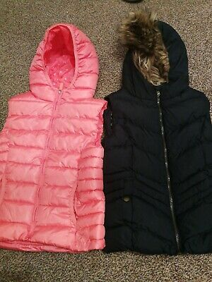 Girls gilet Age 9-10 zara and YD primark.