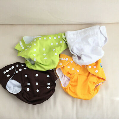 new Alva Baby LLB New Pocket Diaper One size Unisex Solid Color Cover No inserts