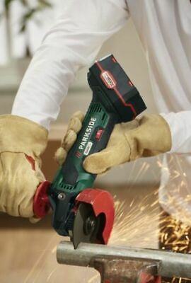Parkside Cordless Angle Grinder 20V With Li-ion Battery & Charger PWSA 20-Li B3=
