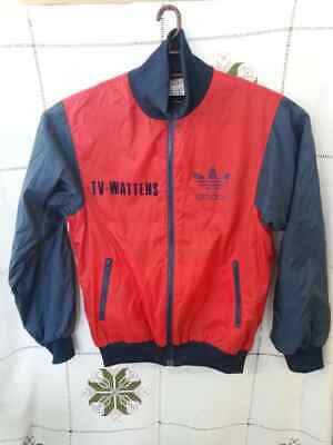 adidas TV WATTENS Vintage Bomber track jacket made in Taiwan