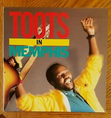 TOOTS & THE MAYTALS / TOOTS IN MEMPHIS~ 1988 Mango Album ~ NEAR MINT
