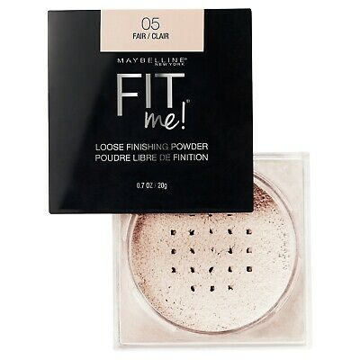 MAYBELLINE Fit Me Loose Finishing Powder FAIR 05 NEW setting