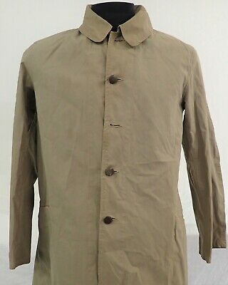 Ww2 Wwii Ija Japanese Uniform Trench Coat Hiroshima 1940 Rare Army Officer