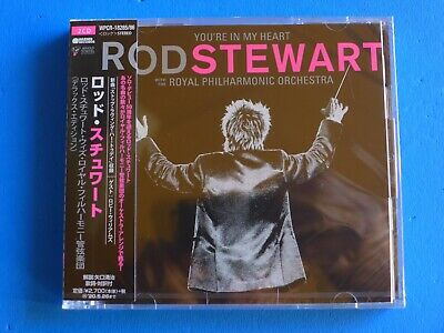 Rod Stewart With Royal Philharmonic Orchestra You're In My Heart Japan 2 Cd