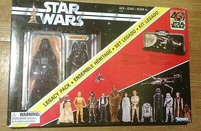 Darth Vader Legacy Pack Star Wars The Black Series Action Figure Toy Hasbro New