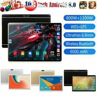 10.1' Tablet Android 8.0 8+128G WIFI/4G-LTE 10 core 13MP Cámara Tableta PC 2 SIM