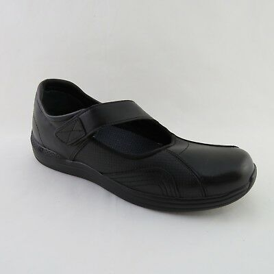 A5 - DREW Womens Black Leather HEATHER Shoes Diabetic Orthopedic Size 10.5 N