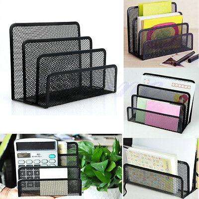 Mesh Letter Sorter Mail Document Tray Office File Organiser CN