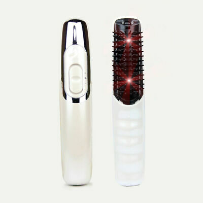 Electric Massage Brush Hair Growth Stress Relax Scalp Infrared Massage Comb