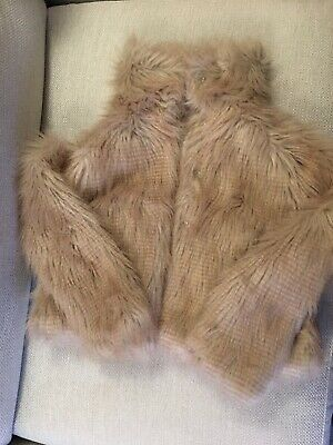 Fake Fur Next Coat 11-12 Years