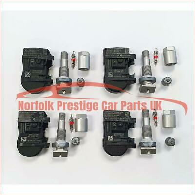 BMW Tyre pressure Monitoring Valves set of 4 TPMS 433MHz 36106881890