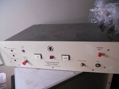 Instruments for Industry (IFI) PM1001 MICROWAVE PULSE MODULATOR
