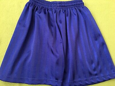 "Royal Blue Boys / Girls Sports / PE Shorts by Medallion - Size 26/28"" waist"