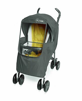 Manito Elegance Plus Baby Stroller Weather Shield and Rain Cover, Gray