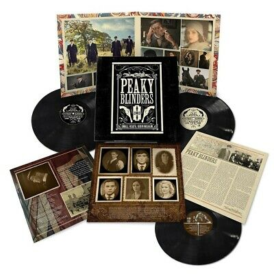 PEAKY BLINDERS : SERIES 1-5 OST (Soundtrack) 3 x VINYL LP AND EXCLUSIVE POSTER