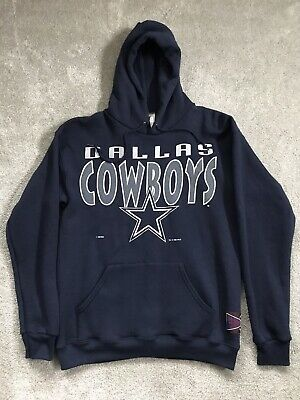 VTG 90's Jostens Dallas Cowboys NFL Hoodie Sweater Size Medium Made In The U.S.A