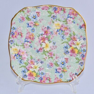 Royal Winton MARION Side/Bread & Butter Plate / Cake Plate -Modern Floral Chintz