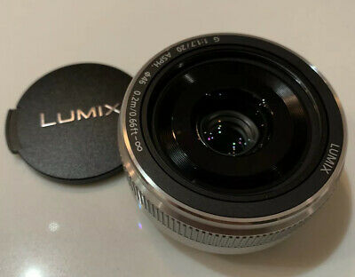 New Never used Panasonic LUMIX G 20mm f/1.7 II ASPH. Lens (Silver)