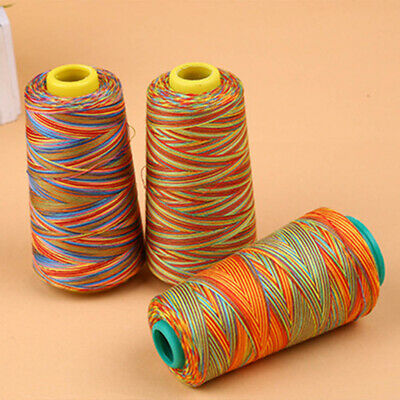 Multi-colored Sewing Thread Polyester Cone Spool Roll for Serger Single Needle