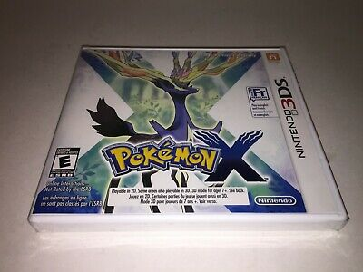 Pokemon X (3DS, 2013) NINTENDO 3DS GAME BRAND NEW FACTORY SEALED