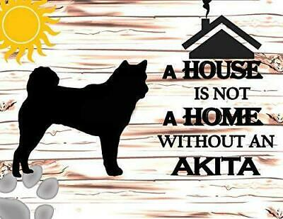 NEW A House Is Not A Home Without An Akita Fridge Refrigerator Magnet