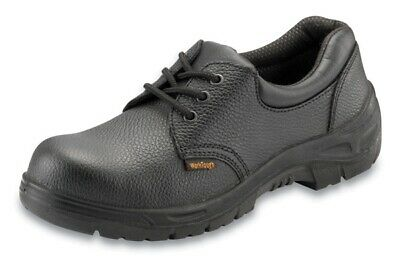 Safety Shoe Black Size 4 201SM04 Worktough Genuine Top Quality Product New