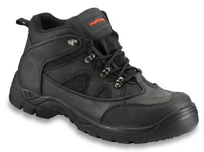 Midcut Boot Black Size 8 73SM08 Worktough Genuine Top Quality Product New