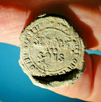 Really Interesting Lead Seal, marked Reading, requires Research