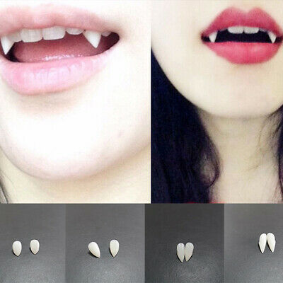 A636 Classic Deluxe Vampire Fangs Teeth Scarecrow Halloween Costume Accessory