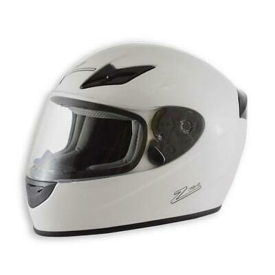 Zamp Helmets H045001L FS-8 Motorcycle Helmet M2015 and DOT Certified Large White