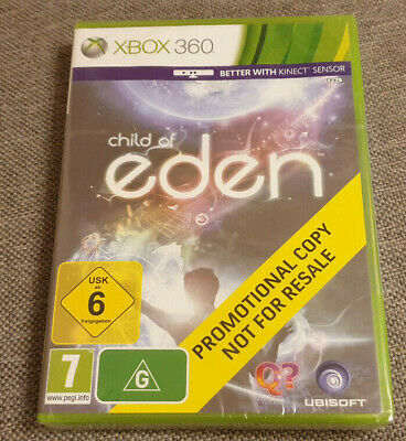 Microsoft Xbox 360 Game Child of Eden Brand New Sealed Promo Version
