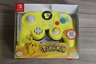 PDP Nintendo Switch Pokemon Wired Fight Pad Pro - Pikachu
