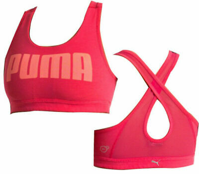 Puma Yogini Live Womens Sports Bra Fitness DryCell Top Black 513967 01 DD30