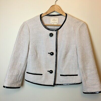 Kate Spade Wool Blend Jacket in Pale Pink Size 4