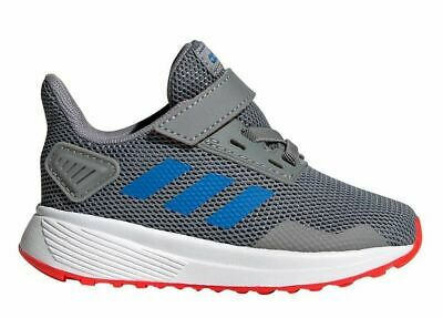 Adidas Duramo 9 I Baby ShoeEE9006 Grey/blue/red Running Course A Pied Size 7K US