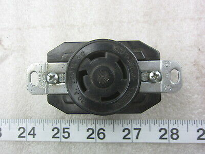 P&S Pass & Seymour 30A 250V 3Ø Hubbell 2720 Style Hart Lock Receptacle L15-30R