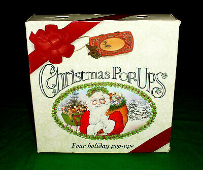 4 Christmas Children's/Toddlers Pop-Up Books Boxed Set Ottenheimer Publishers
