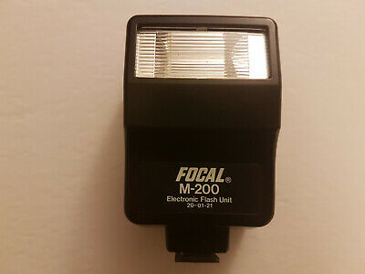 Focal M-200 Electronic Flash Unit 20-01-21 Tested and Working