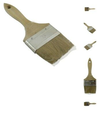 """3"""" Wooden Handle Paint Brush - Box of 120"""