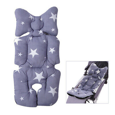 Baby Car Seat Stroller Liner Cushion Mat Pushchair Cotton Warm Pad Cover