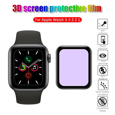 For Apple Watch Series 44mm 40mm 42mm 38mm Anti Blue Light Film Screen Protector