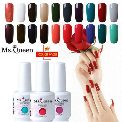 MS.QUEEN Gel Nail Polish No Wipe Top Base Coat Lacquer Manicure Xmas Gift
