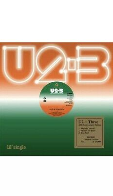 "U2 - Three - 12"" Vinyl - Rsd Record Store Day Blackfriday 2019 BrandNew & Sealed"
