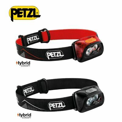 PETZL Headtorch Actik Core Rechargeable Hybrid Outdoor Running Headlamp 450LM