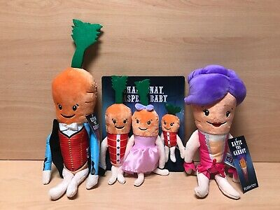 Kevin The Carrot Family Complete Set Katie Kids Soft Toy Set Aldi Xmas 2019 NEW