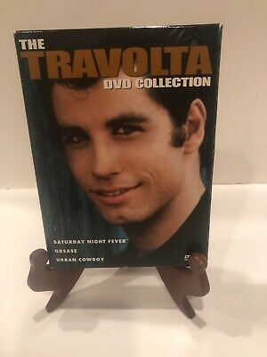The Travolta Collection (DVD, 2002, 3-Disc Set) Saturday Night, Urban, Grease