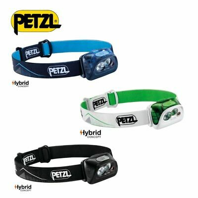 PETZL Headlight ACTIK Headtorch Outdoor Running Compact 350LM
