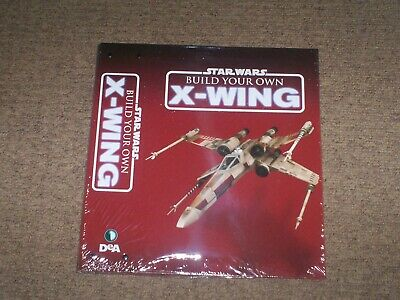 Deagositini Build Your Own X-Wing Collection Folder (New + Sealed)