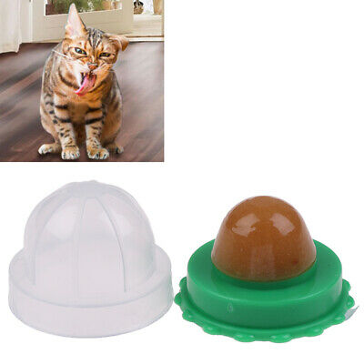 Healthy Cat Catnip Sugar Cats Snacks Licking Candy Nutrition Energy Ball Toys~GN