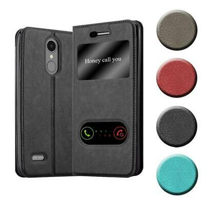 Case for LG K8 2017 Phone Cover Viewing Windows Wallet Book